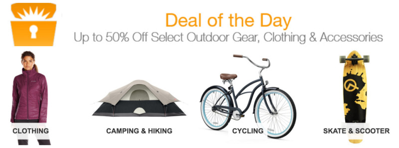 *HOT* Deal of the Day: Up to 50% Off Select Outdoor Gear, Clothing & Accessories