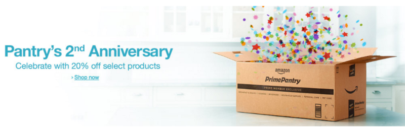 HUGE Round Up of Prime Pantry Deals — Including FREE Shipping, Extra 30% Off, Coupons & More — April 20th, 2016