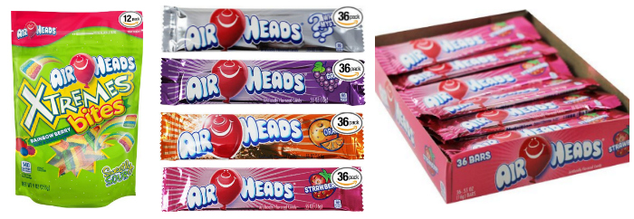 New 30% Off Coupons = Up to 45% Off Airheads!