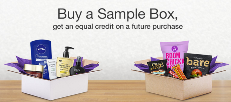 Buy a Sample Box, Get an Equivalent Credit on Future Purchase!