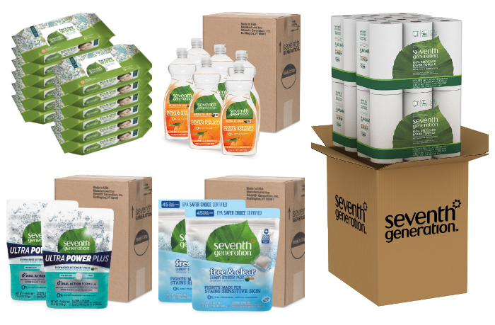 Up to an Extra 35% Off Select Seventh Generation Products -- Includes Baby Wipes!