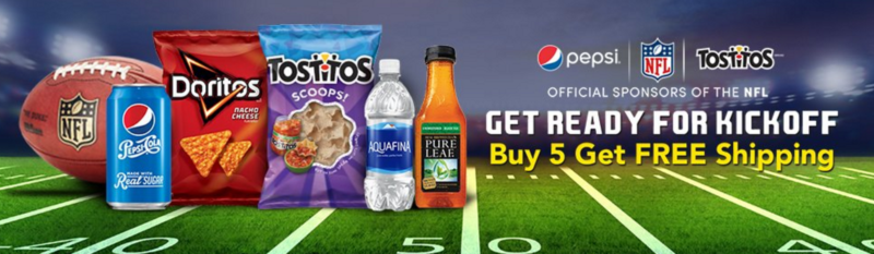 "Pepsi ""Big Game"" Promotion - Buy Five Get FREE Shipping"