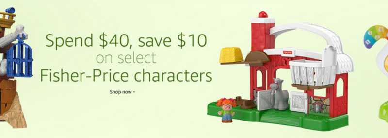 Spend & Save on Select Fisher-Price Characters