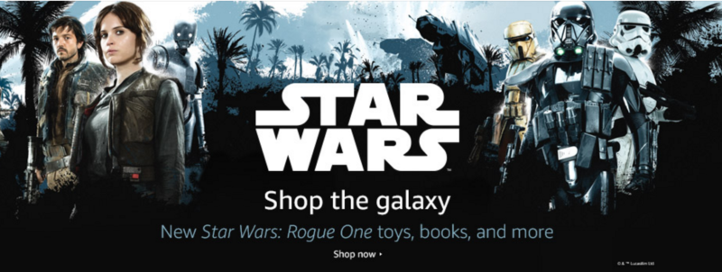 Amazon Rogue One Toys