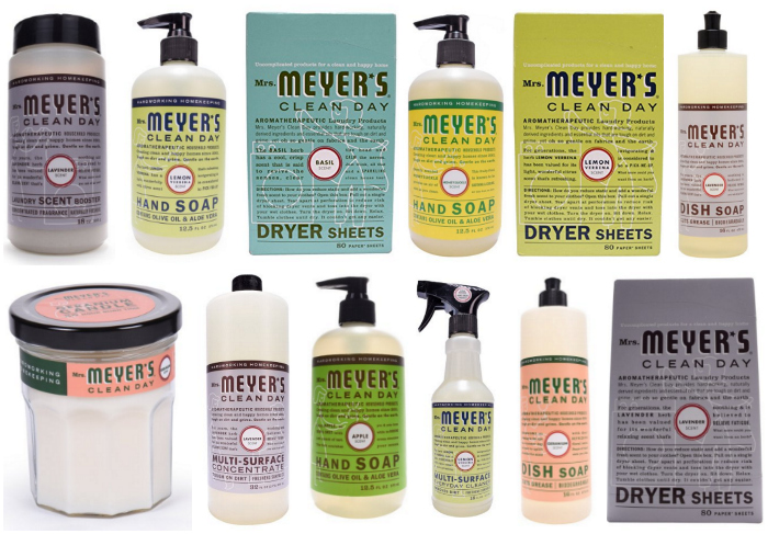 NEW Coupons = Up to 35% Off Mrs. Meyer's Products!