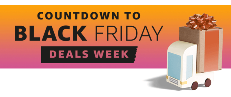 """Amazon Launches """"Countdown to Black Friday Deals Week"""""""
