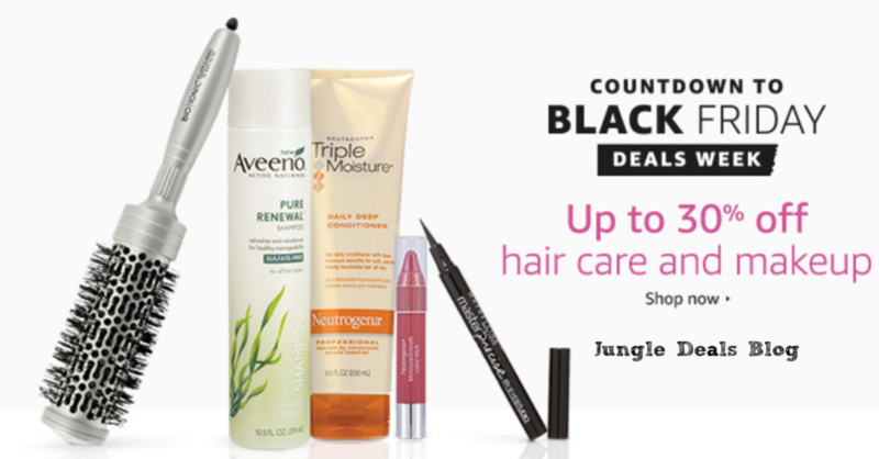 Up to 30% off Hair Care and Makeup