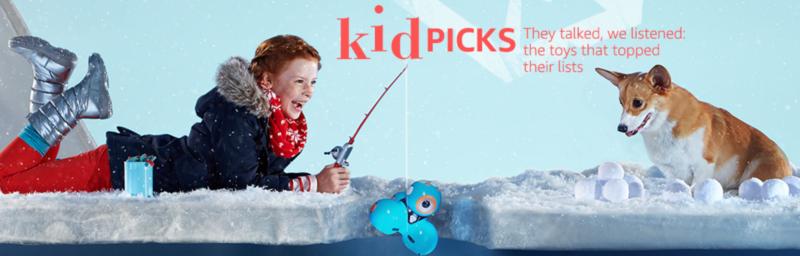 Amazon Holiday Toy List