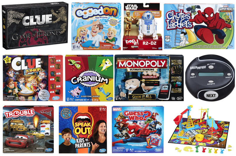 *HOT* Amazon: Buy 2 Get 3rd FREE all Hasbro board games!