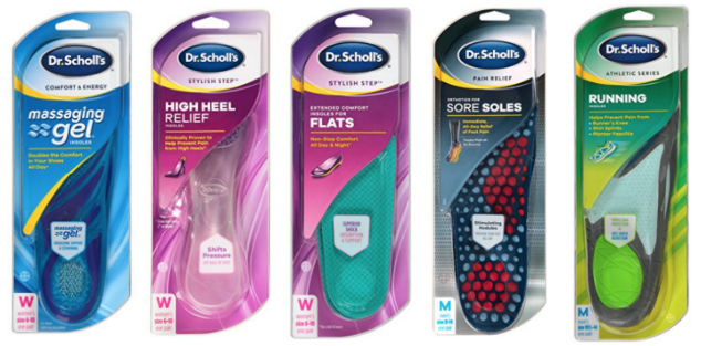 NEW Coupons on Dr. Scholl Insoles = Excellent Stocking Stuffers