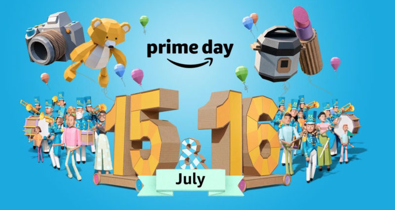 Amazon Prime Day will be July 15 & 16