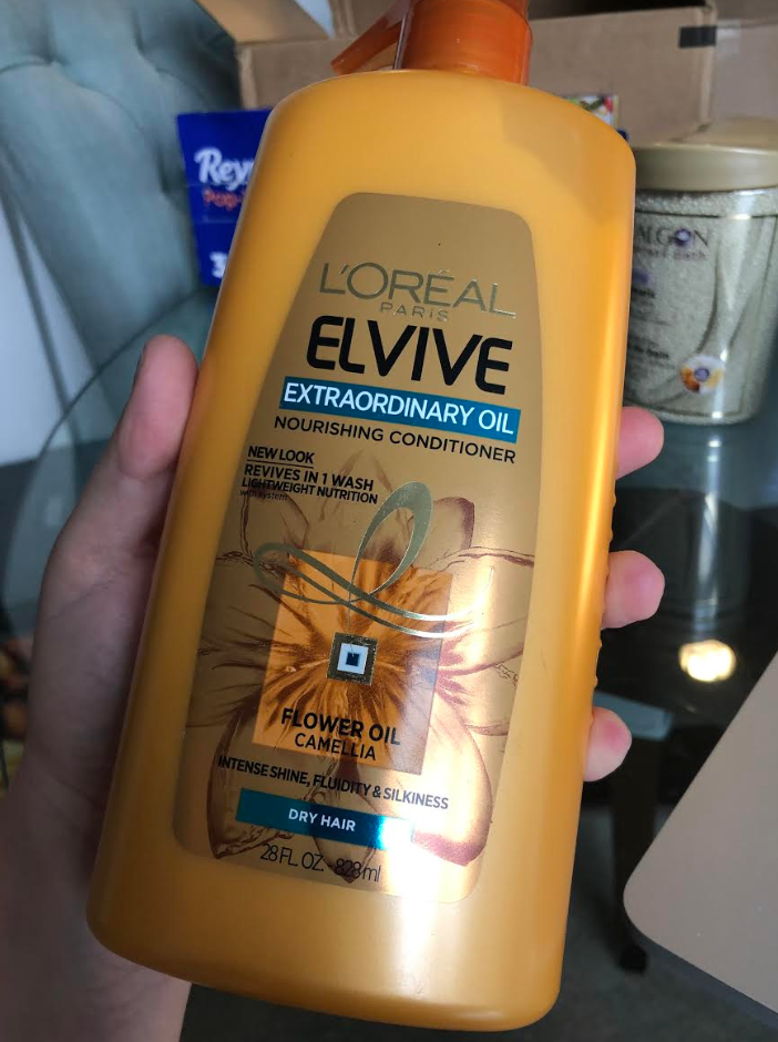 *WILL SELL OUT* Highly Reviewed L'Oreal Paris Elvive Extraordinary Oil Nourishing Conditioner 28 Fl. Oz