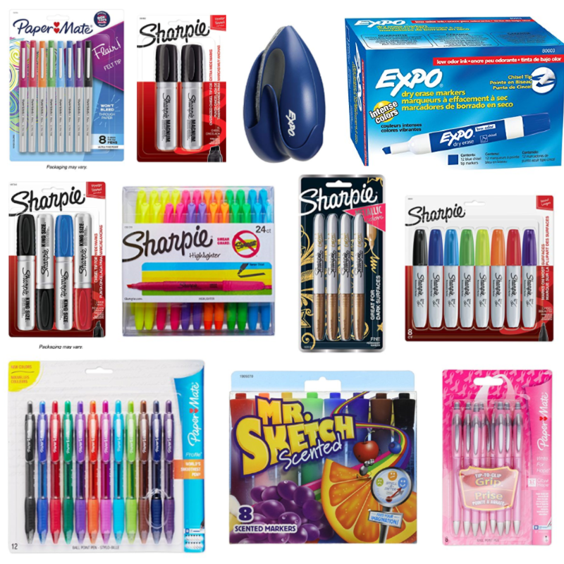 Sharpie, Expo & More -- Save $5 on orders $15+!