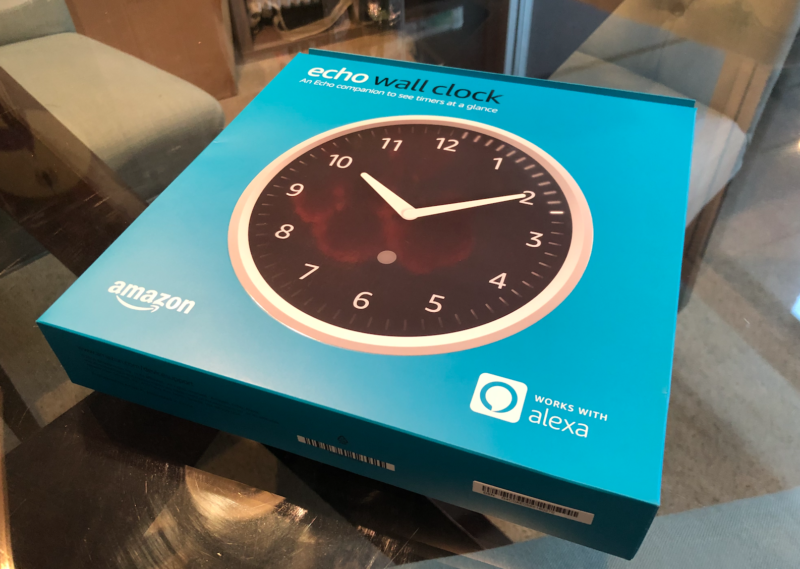 Echo Wall Clock - see timers at a glance - requires compatible Echo device, ONLY $23.99 (reg. $29.99) - I LOVE Mine!