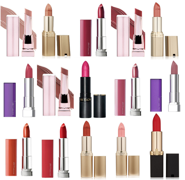 Buy 2, save $5 Deals = Excellent Prices on Select Lipstick & Lip Color Products from L'Oreal, Revlon, Maybelline & More!